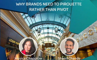 Luxury retail and the pandemic: why brands need to pirouette rather than pivot