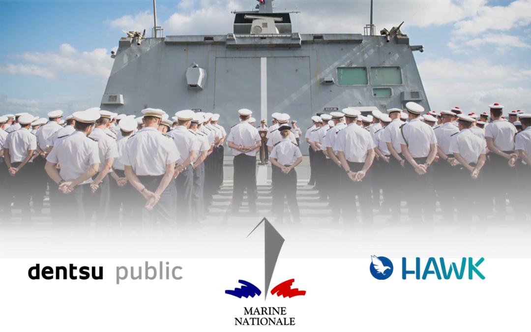 La Marine Nationale et Dentsu Public utilisent le DSP Hawk pour les campagnes audio digitales avec l'intégration d'études post-tests