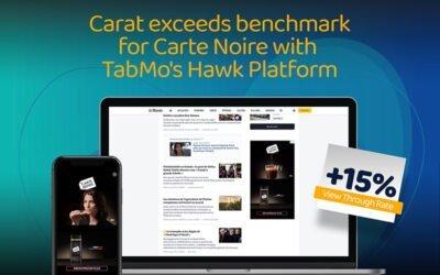 Carat innove pour le dernier film de Carte Noire, grâce à un dispositif Vidéo OnLine (VOL) cross-devices proposé par TabMo
